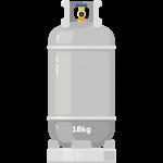 Targonca gáz (motorüzemű PB gáz)